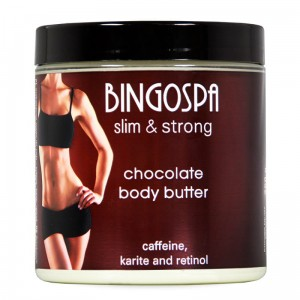 BingoSpa Chocolate Body Butter With Retinol and Karite