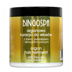 BingoSpa Argan Hair Treatment with Linseed and Silk