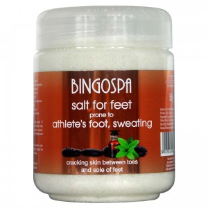 BingoSpa Salt For Feet Prone To Athlete's Foot, Sweating