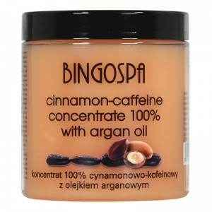 BingoSpa Cinnamon – Caffeine and Argan Oil Concentrate