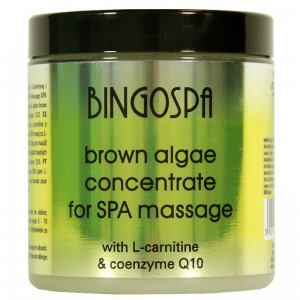 BINGOSPA Brown Algae Concentrate  for SPA Massage with L-carnitine & Coenzyme Q10