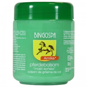 BingoSpa Pferdebalsam - Horse Balsam Ointment Cream With Arnica Extract