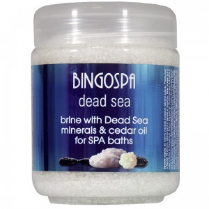 BingoSpa SPA Brine With Dead Sea Minerals And Cedar And Baobab Seeds Oil (1)
