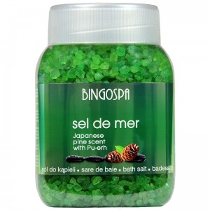 "BingoSpa Bath Salt ""Sel de Mer"" Forest With  Pu-erh"