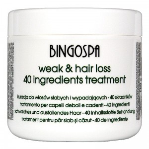 BingoSpa Hair Treatment with 40 active ingredients