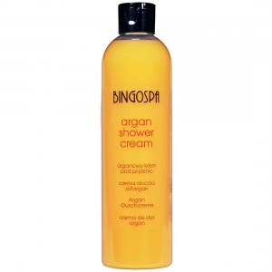 BingoSpa Argan Oil Shower Cream With Peach