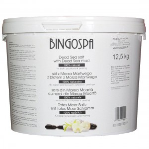 BingoSpa  Natural Dead Sea Salt With Mud From The Dead Sea 12.5 kg