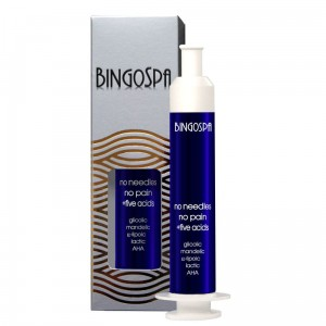 BingoSpa No Needles, No pain with Five Acids, Night Serum