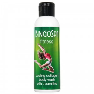 Cooling collagen body wash with L-carnitine BingoSpa Fitness