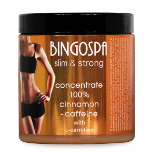 BINGOSPA 100%  Cinnamon and Caffeine Concentrate with L-carnitine - slim&strong
