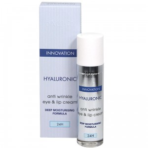 BingoSpa Hyaluronic Anti Wrinkle Eye & Lip Cream With Deep Moisturising Formula