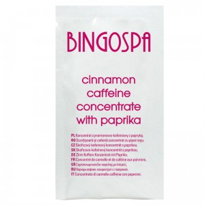 BingoSpa Cinnamon - Caffeine Concentrate with Paprika 10g
